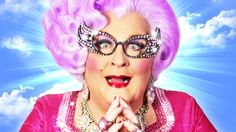 "San Diego, Aug 24: Celebrity Impersonator Michael Walters as Dame Edna: ""Something Like A Dame"