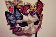 """Image will be used in lesson 4, """"My Culture's Influence on My Identity,"""" as an example of 2D and 3D decorative ideas for students' identity masks."""