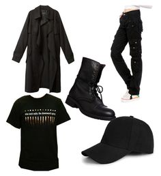 """Get The Look: Dylan Klebold"" by hau-ruck on Polyvore featuring Steve Madden and…"