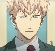 Noiz   Dramatical Murder anime\his face is less delicate. I found that the anime looked more shounen