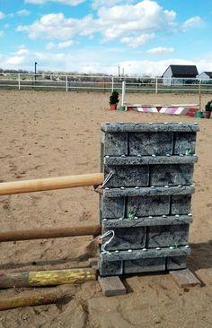 Jump Standards - Home Made Horse Jumps
