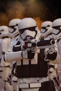 Star Wars VII: The Force Awakens - Stormtroopers.