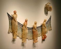 By Norma Minkowitz, made with wire and crochet