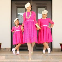 These Family Photos of Fashionable and Stylish Mother and Daughters Will Melt Your Heart - Wedding Digest NaijaWedding Digest Naija