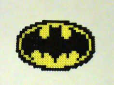 Totally making Perler Batman and Superman decorations for the superhero vow renewal!