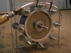 Build Your Own Tesla Turbine As A Water Powered Or Steam Powered Generator