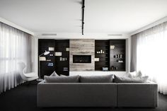 Contemporary minimal house with inviting ambiance in Australia