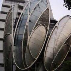 Funky architecture near Lidabashi