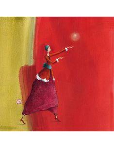 """Carte de Voeux """"Noël en Rouge"""""""