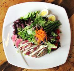 Sashimi Tuna Nicoise Salad