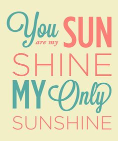 Take a look at this 'You Are My Sunshine' Wall Sign by Addie & Clover on #zulily today!