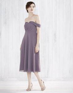 monsoon purple bridesmaid dress