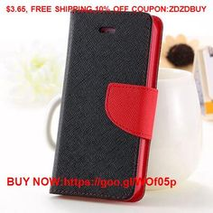 For iPhone 4S Cases New Affordable Hit Color Leather Ultra Flip Case For iPhone 4 4S 4G Card Holder #Case #Iphone #HTC #LG #Samsung #Cute