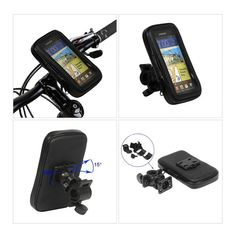 "Cycling Bike Bicycle Handlebar Bag Case for iPhone 4 5 6 Samsung 4-5.7/"" Phone"