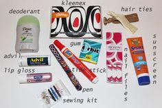purse emergency kits
