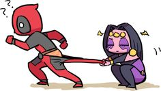 Shiklah and Deadpool | tumblr search