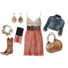 ifashiongirls:    pink country girl outfits (via Fashion Designer -)