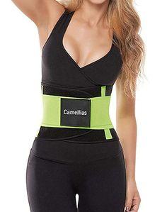 3881d53d5cd79 Firm Control Waist Training -- Camellias slimming waist trainer belt belly  band body shaper wraps