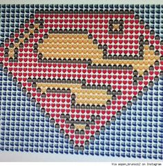 There is No Emoji Strong Enough to Express Our Love for This Superman Emoji Art