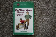 Vintage The Great Brain Does It Again book by John Fitzgerald by TheKindLady on Etsy