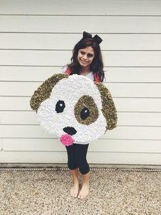 Emoji Emoji costume Halloween Diy  Easy Halloween costume Puppy