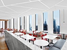 White & Case's NYC Headquarters by HOK and HYL Architecture Is Calm, Cool, and Collected