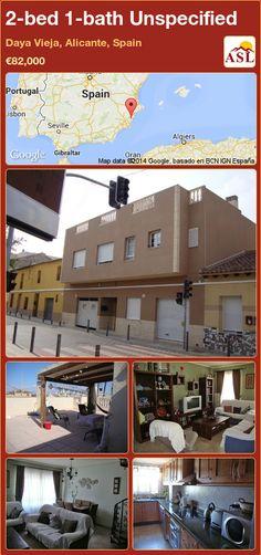 2-bed 1-bath Unspecified in Daya Vieja, Alicante, Spain ►€82,000 #PropertyForSaleInSpain