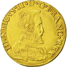 Right now on NumisCorner ➽ François II Double Henri d'or ✓ Quality Expand your collection without delay ! François Ii, French Coins, Royal King, Poitiers, Antique Coins, World Coins, Rare Coins, Coin Collecting, France