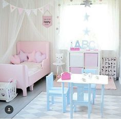 75 feminine and fashionable teenage girl bedroom ideas that will blow your mind Teenage Girl Bedrooms Bedroom Blow fashionable Feminine Girl Ideas Mind Teenage Baby Bedroom, Girls Bedroom, Bedroom Decor, Trendy Bedroom, Girl Toddler Bedroom, Kids Bedroom Ideas For Girls Toddler, Ikea Girls Room, Kids Girls, Teenage Girl Bedrooms