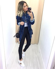 Classy Outfits, Casual Outfits, Girl Outfits, Cute Outfits, Winter Fashion Outfits, Look Fashion, Spring Outfits, Look Casual Chic, Casual Looks