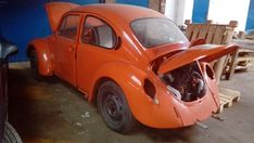 VW Beetle . most of hard, dirty work is done   eBay