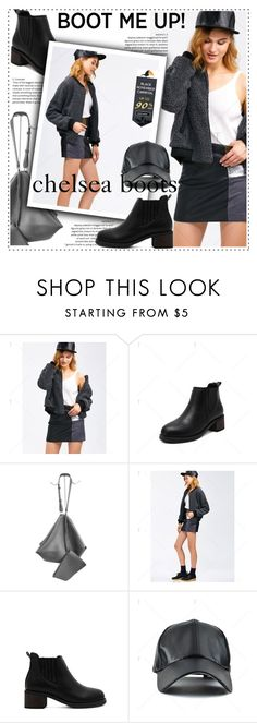 """Kick It: Chelsea Boots"" by duma-duma ❤ liked on Polyvore featuring chelseaboots"