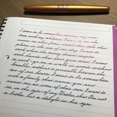 271 Times People Found Some Truly Perfect Handwriting Examples That Were Too Good Not To Share Handwriting Examples, Calligraphy Handwriting, Penmanship, Calligraphy Writing, Hand Lettering For Beginners, Hand Lettering Styles, Hand Lettering Alphabet, Perfect Handwriting, Beautiful Handwriting