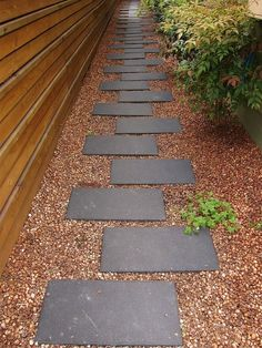 Pathways are not just a way to add functionality to your outdoor space--they also add variety and charm. Check out this list for examples of different mediums and styles you can use for your pathway…MoreMore #LandscapingIdeas
