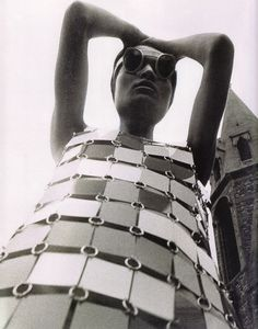 1966 - Paco Rabanne dress by David Montgomery