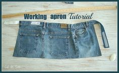 Working apron tut by Bouclenoire, via Flickr
