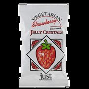 Just Wholefoods Vegetarian Jelly Crystals Strawberry