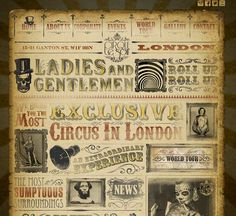 Roll up: The Cirque du Soir website promises guests the 'most exclusive circus in London'