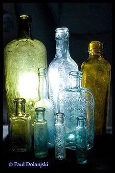 glass bottles by augusta