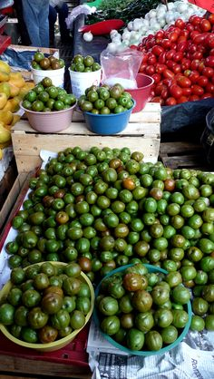 Mercado De Abastos in Oaxaca is the largest outdoor market in Mexico. Fresh food, herbs and spices can be found here.