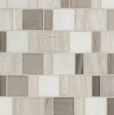Athens Stone Blend Mosaic Guest Bathrooms, Porcelain Tile, Wall Tiles, Athens, Mid-century Modern, Tile Floor, Mosaic, Mid Century, Pottery