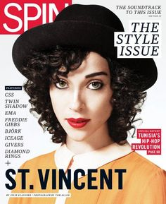 Oh, hey, St Vincent. You're fine. ANDDD I like your music. A lot. bye.