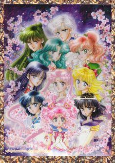 Cosmos Sailor Senshi by VivianexMoon