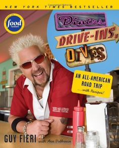 Diners, Drive-ins and Dives: An All-American Road Trip . . . with Recipes! (Food Network) by Guy Fieri, Ann Volkwein