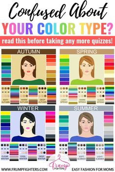 Simple & Easy: How Seasonal Color Analysis Works (+ the Different Methods Explained) — Frump Fighters Color Me Beautiful, Color Combinations For Clothes, Color Combos, Color Trends, Spring Color Palette, Summer Color Palettes, Light Spring Palette, Deep Winter Palette, Cool Winter Color Palette