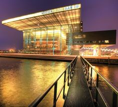 ijVENUES: a combination of 4 inspiring organizations, meet Muziekgebouw aan 't IJ, Netherlands' most important stage for contemporary music, as well as for classical music with a modern twist.  http://www.muziekgebouw.nl/