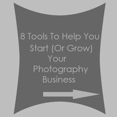 8 business and marketing tools to help you start (or grow) your photography business (via Steel Toe Images)