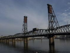 "Hawthorne Bridge: ""Another one of my favorites. The Hawthorne Bridge is a nice bridge to walk across. I cross it twice each day to take Julie to work."" 
