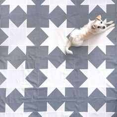 Free Sawtooth Star quilt pattern with math conversion chart to size up or down.