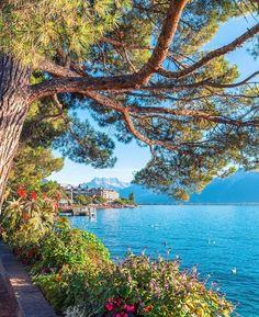 Montreux seen by our friend Saúl (���